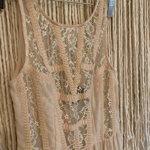 Astr Dresses - Sheer Lace ASTR Gown